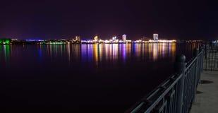 Обваловка на ноче Стоковая Фотография RF
