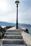 Обваловка Herceg-Novi Стоковое Изображение RF