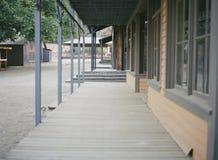 Обветшалые постройки от старого запада Стоковая Фотография RF