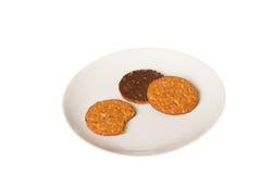 Обгрызенное печенье Стоковая Фотография RF