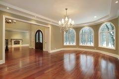 обедать домашняя большая роскошная комната Стоковые Изображения RF