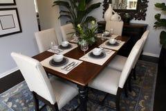 обедать домашняя роскошная комната Стоковые Фотографии RF