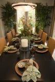 обедать домашняя роскошная комната Стоковые Фото