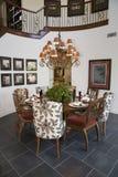 обедать домашняя роскошная комната Стоковое фото RF