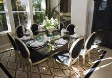 обедать домашняя роскошная комната Стоковое Изображение RF