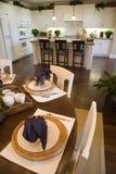 обедать домашняя роскошная таблица Стоковые Изображения RF
