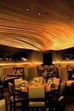 обедать комната ресторана Стоковое Изображение