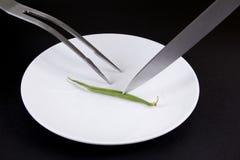 обедать минимальный Стоковая Фотография RF