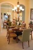 обедать отраженная комната Стоковая Фотография