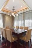 обедать роскошная комната Стоковая Фотография RF