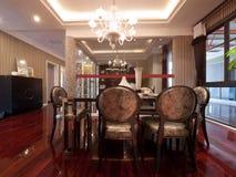 обедать роскошная комната Стоковые Изображения