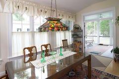 обедать роскошная комната Стоковое Изображение