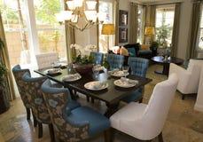 обедать роскошная комната Стоковое Фото