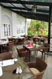 обедать роскошный курорт стоковая фотография rf
