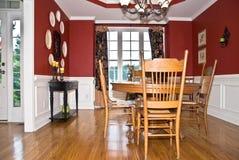 обедать самомоднейшая комната Стоковые Фото