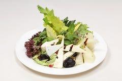 обедать точный салат rucola еды Стоковая Фотография RF
