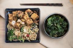 Обедающий азиата Vegan Стоковые Изображения