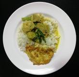 Обедающий завтрака обеда риса Стоковые Изображения RF