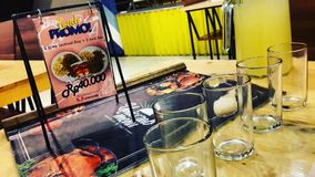 Обедающий морепродуктов Стоковое Изображение