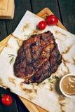 Обедающий стейка говядины Стоковое Изображение RF