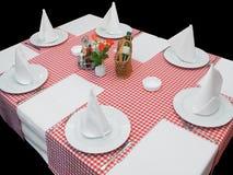 обедая таблица Стоковое Изображение RF