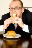 обед бизнесмена Стоковые Изображения
