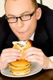 обед бизнесмена Стоковые Фотографии RF