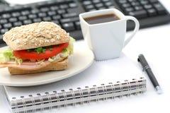 обед быстро Стоковая Фотография RF