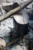 обед делая туриста бака Стоковая Фотография RF