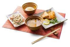 обед дела 6 азиатов Стоковая Фотография