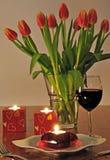 обед романтичный Стоковая Фотография RF