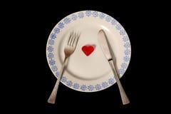 обед симпатичный Стоковое Изображение