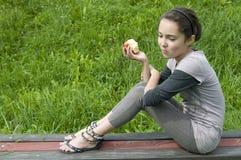 обед яблока Стоковое Фото