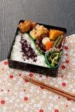 обед японца коробки Стоковые Изображения