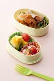 обед японца коробки Стоковое Фото