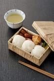 обед японца коробки Стоковое Изображение