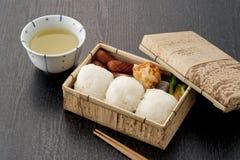 обед японца коробки Стоковая Фотография