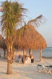 обед 2 пляжей Стоковое Фото