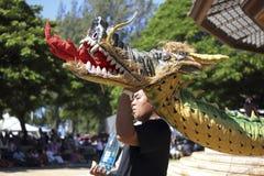 Обезвоженный дракон Стоковые Изображения RF