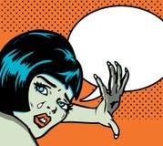 обезумевшая женщина Стоковое Изображение RF