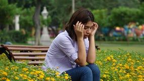 Обезумевшая усиленная предназначенная для подростков девушка Стоковое Изображение RF