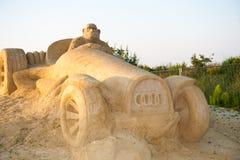 обезьяна автомобиля Стоковое Изображение RF