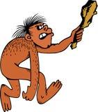 обезьяна клуба Стоковое Изображение