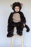 обезьяна мальчика Стоковое Изображение