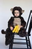 обезьяна мальчика Стоковое фото RF