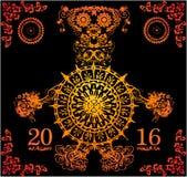 Обезьяна Нового Года Стоковые Изображения RF