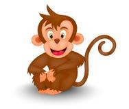 обезьяна шаржа Стоковые Фотографии RF