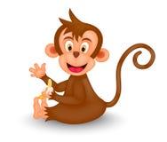 обезьяна шаржа Стоковая Фотография