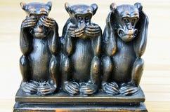 обезьяна 3 Стоковое Изображение
