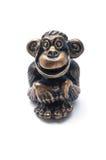 обезьяна figurine стоковое изображение rf